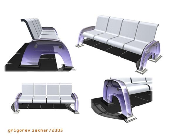Конкурс малых арх. форм(скамейка4)