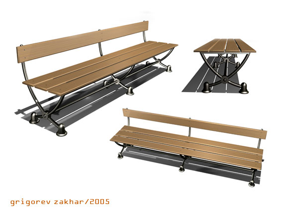 Конкурс малых арх. форм(скамейка1)