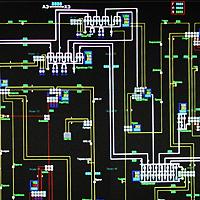 Графическая библиотека для отображения принципиальных схем