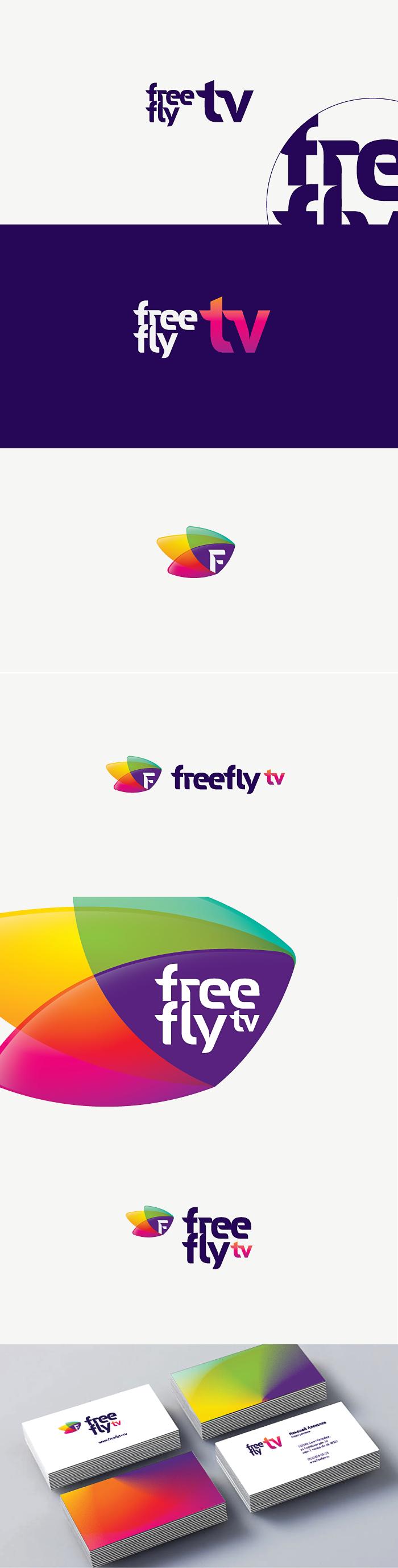 Логотип для общественного интернет-телевидения FreeFly фото f_4fa95d704835e.png