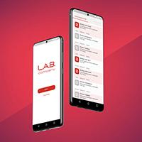 Дизайн мобильного приложения L.A.B.