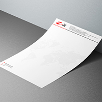 Фирменный бланк для компании Z-tv.corp