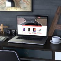 Разработка главной страницы интернет магазина