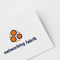 Логотип для компании Networking fabrik