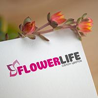 Разработка фирменного стиля цветочного магазина