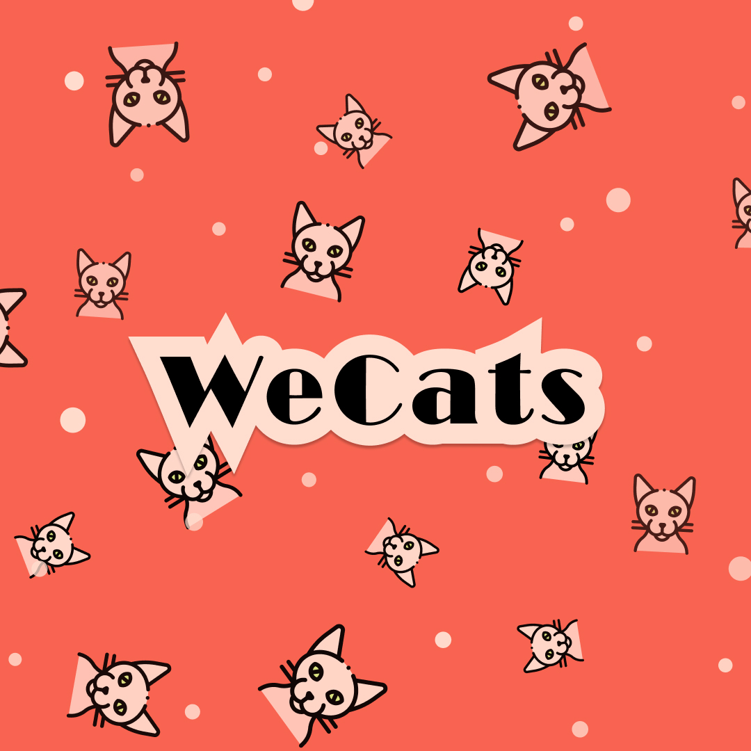 Создание логотипа WeCats фото f_2575f18a31e90fc4.jpg