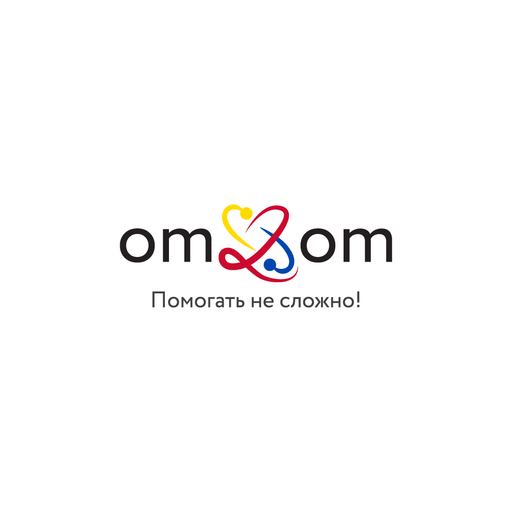 Разработка логотипа для краудфандинговой платформы om2om.md фото f_3315f5b42e8c2d6c.png