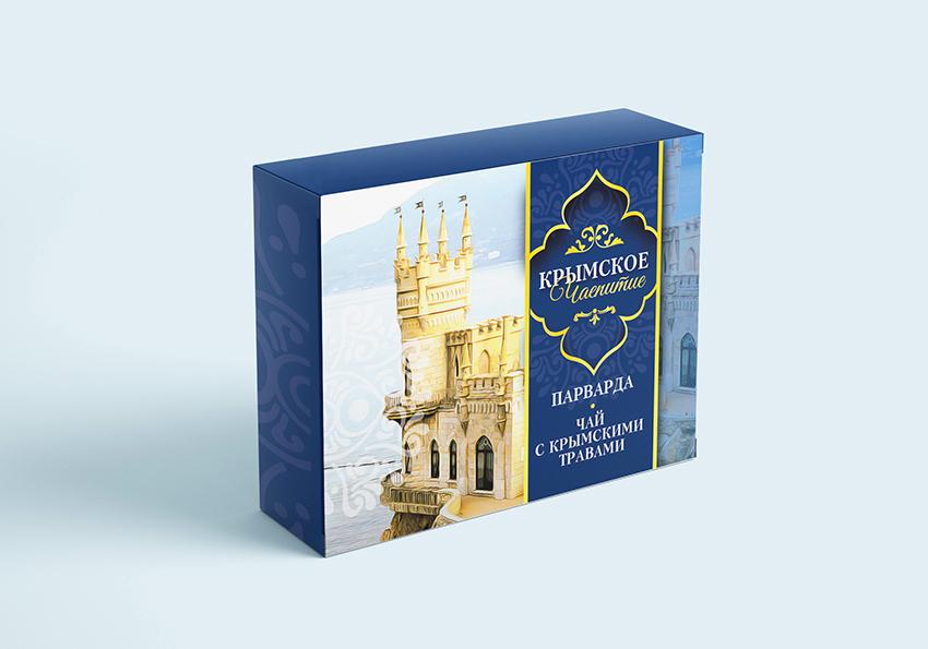 Дизайн коробки сувенирной  чай+парварда (подарочный набор) фото f_5505a5e65fd414a3.jpg