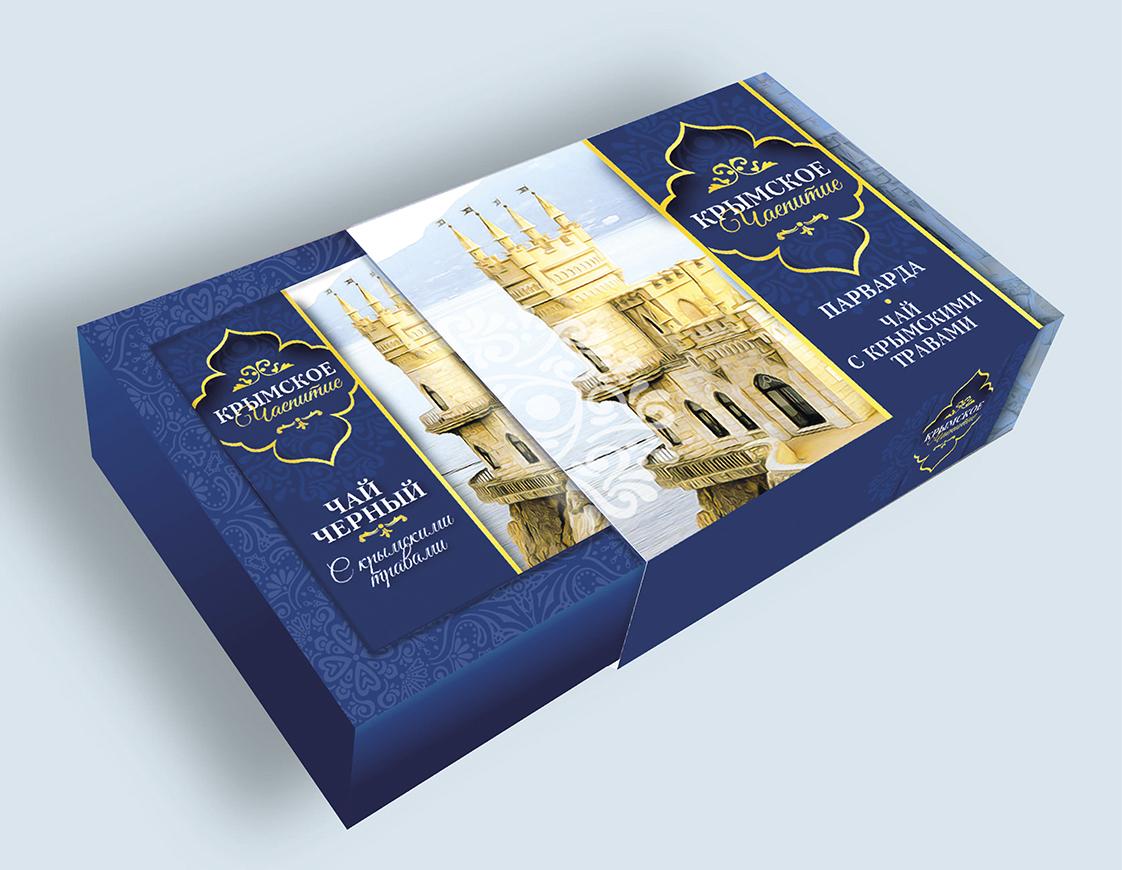 Дизайн коробки сувенирной  чай+парварда (подарочный набор) фото f_6315a5e6608edea6.jpg