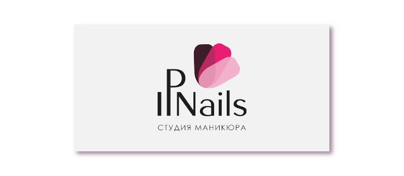 логотип IPNails (студия маникюра)