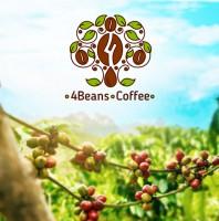 "Логотип ""4Beans coffee"""