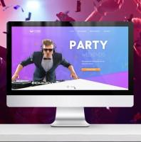 "Дизайн сайта ""Party"""