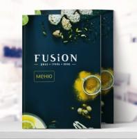 Меню ресторана Fusion