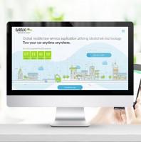 Дизайн сайта интерактивной площадки Car Taxi