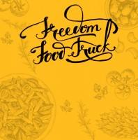 Разработка дизайна логотипа для франшизы передвижных фаст-фуд траков Freedom Food Truck