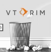 Разработка дизайна логотипа эко-компани VTORIM