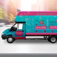 Брендирование авто Food Truck