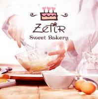 Разработка дизайна логотипа и фирменной стилистики для семейной кондитерской Зефир