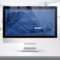 Разработка дизайна сайта финансовой компании Сириус