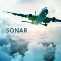 Разработка дизайна логотипа для системы авиации SONAR.