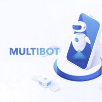 Разработка сайта для  агенства по созданию чат ботов Мульти Бот