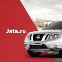 Редизайн сайта компании, которая занимается размещением рекламы на автo Jata.ru
