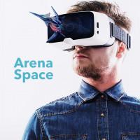 Разработка фирменного стиля и айдентики для международной сети VR парков ARENA SPАCE
