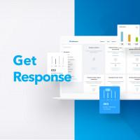 Разработка лендинга для продвижения интернет платформы Get Response.