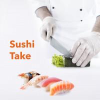 Разработка презентации для франшизы по доставке суши