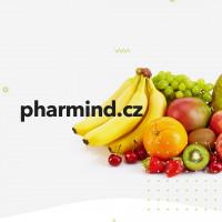 Разработка сайта для производителей фруктовых баточников pharmind.cz