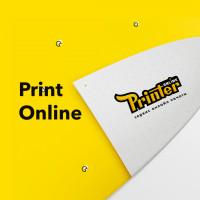 Разработка дизайна логотипа и фирменного стиля типографии Print Online
