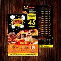 Листовка PizzaBoom
