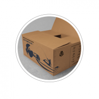 Разработка иллюстрации и дизайна упаковочной коробки для Штокер