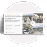 Шаблон страницы для презентации свадебного агентства Diadema