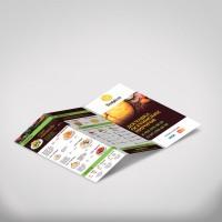 Буклет для ресторана