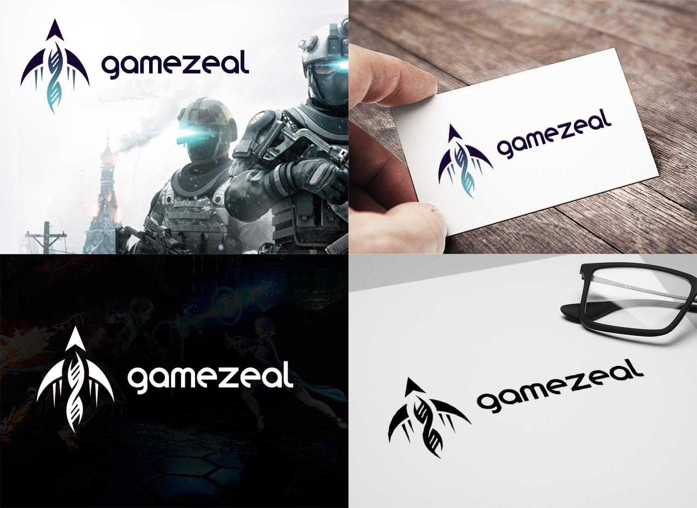 "Логотип ""Gamezeal""   разработка игр"