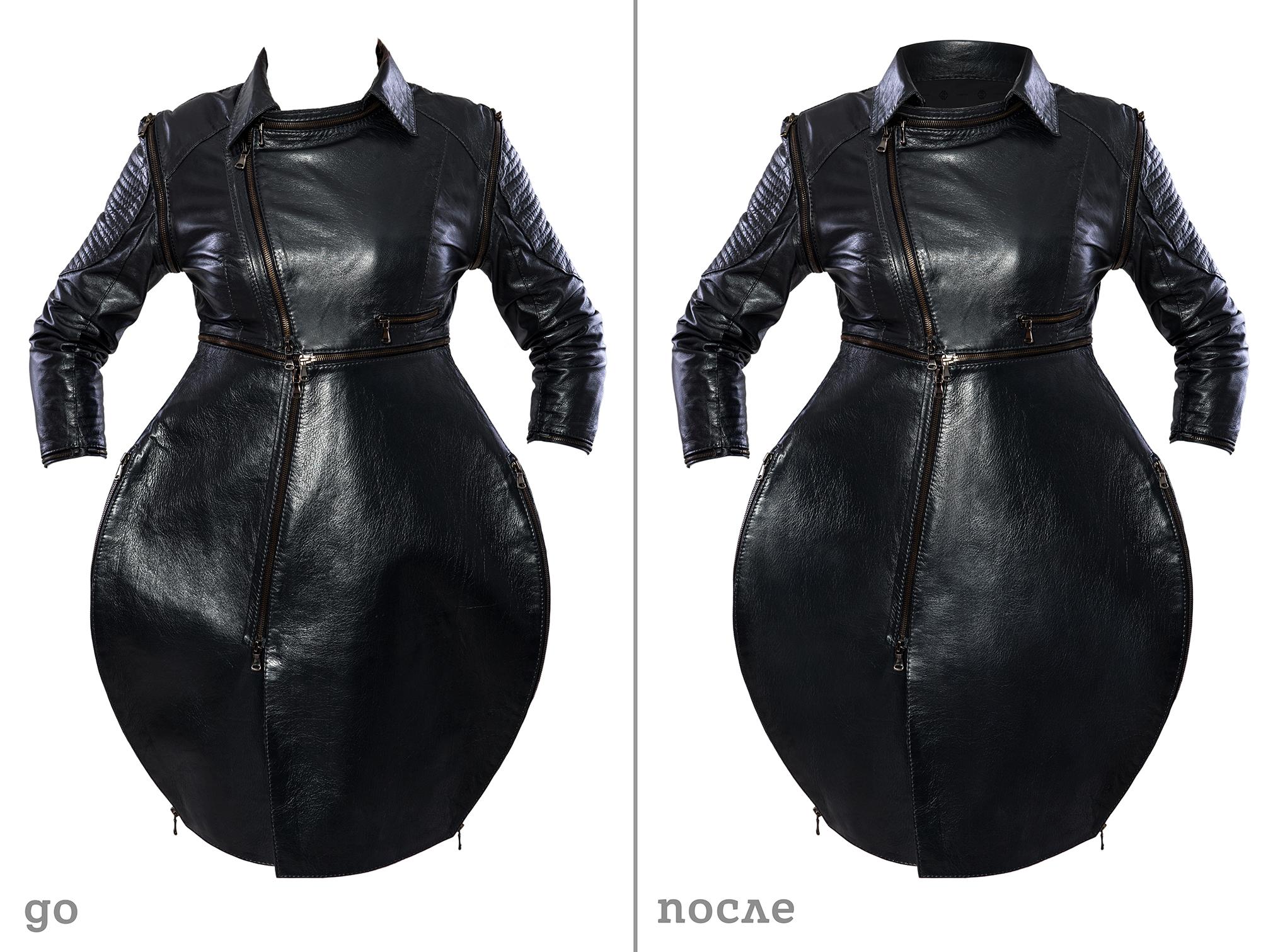 Ретуширование моделей одежды