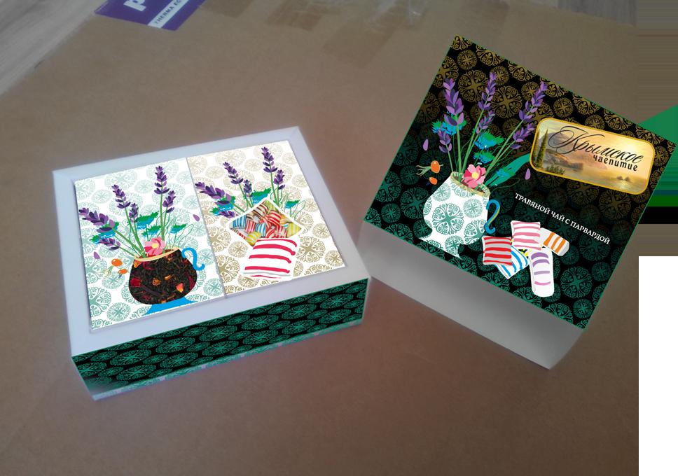 Дизайн коробки сувенирной  чай+парварда (подарочный набор) фото f_0125a58bdd48e50f.png