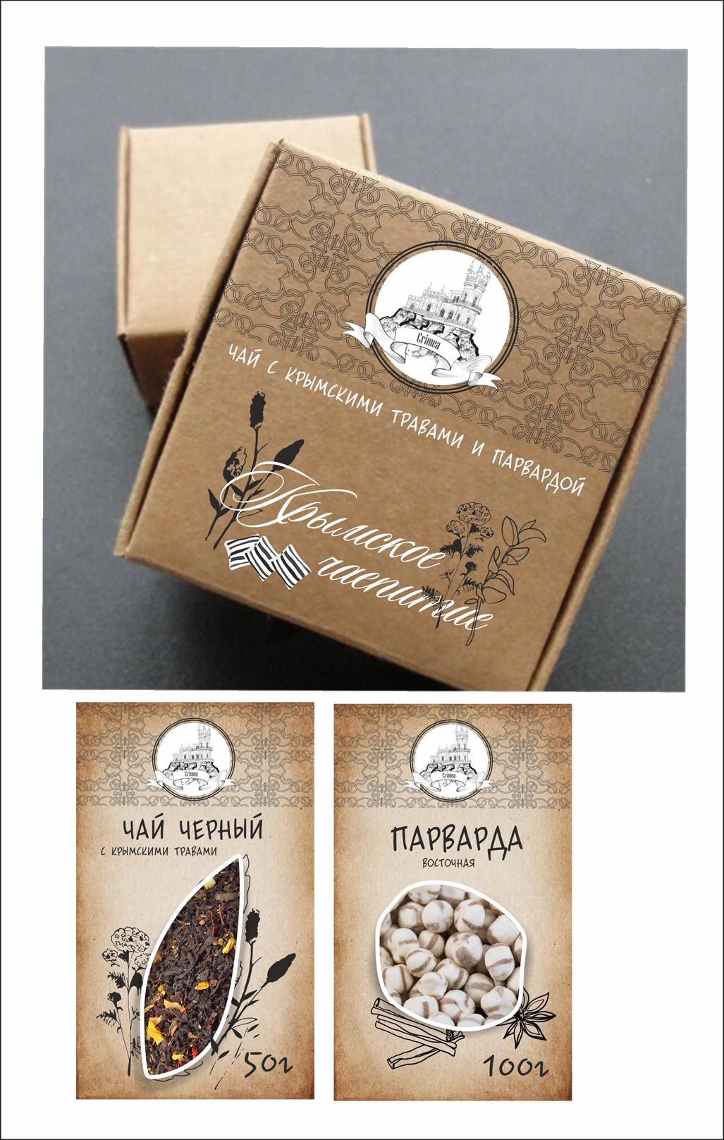 Дизайн коробки сувенирной  чай+парварда (подарочный набор) фото f_3585a58bdfa53463.png