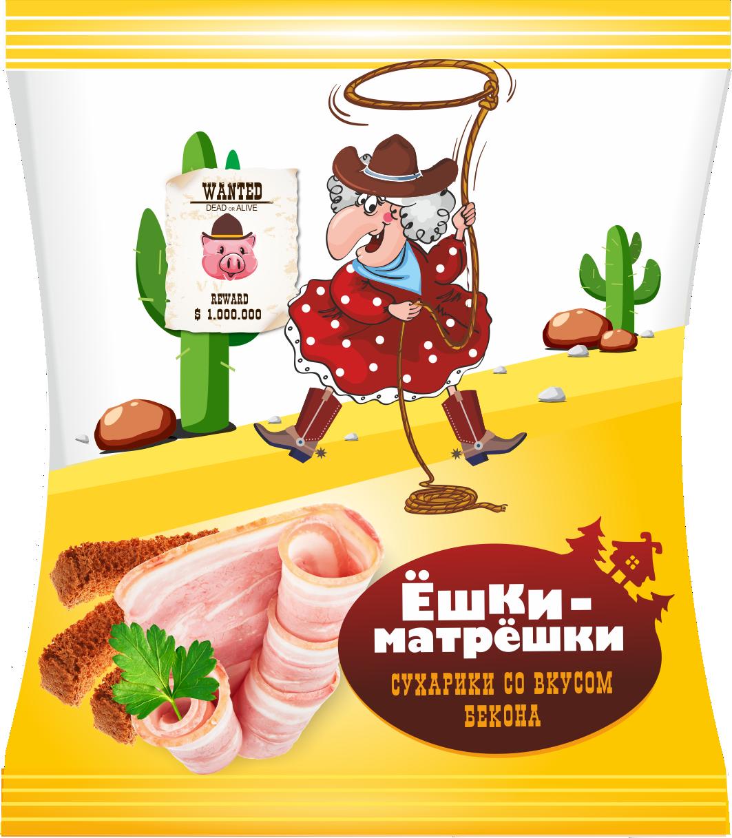 Разработайте дизайн упаковки сухариков ТМ «Ёшки-матрёшки» фото f_54559ebb7875714f.png