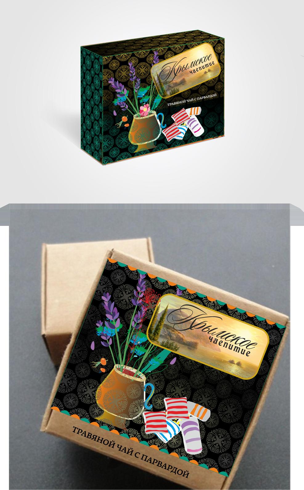 Дизайн коробки сувенирной  чай+парварда (подарочный набор) фото f_8495a58bdc4cb086.png