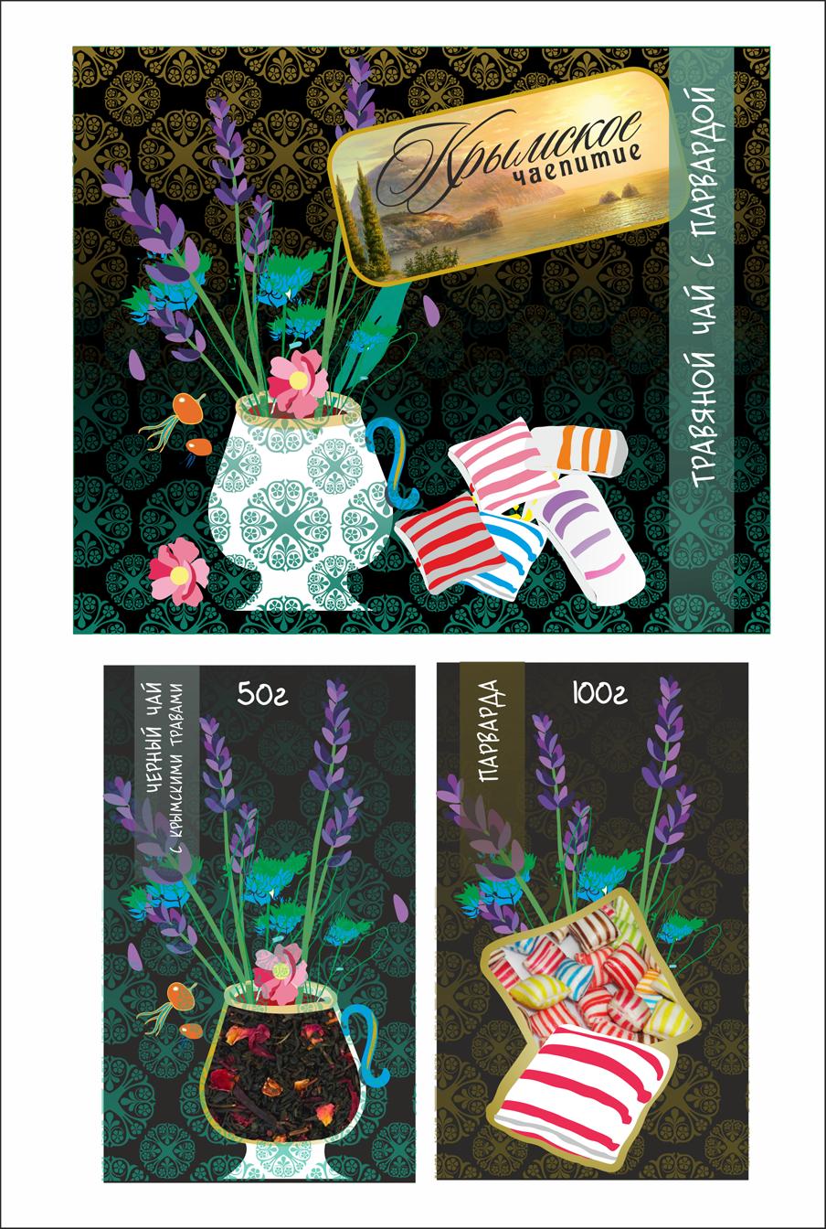 Дизайн коробки сувенирной  чай+парварда (подарочный набор) фото f_9025a58bded6c5a8.png