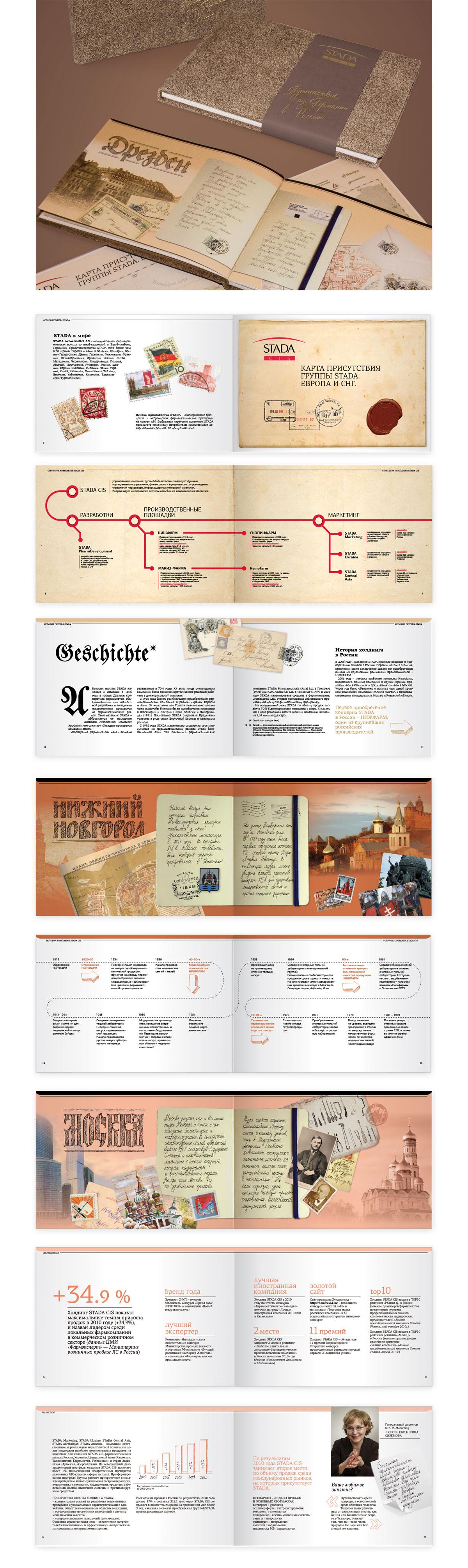 презентационный VIP буклет Штада