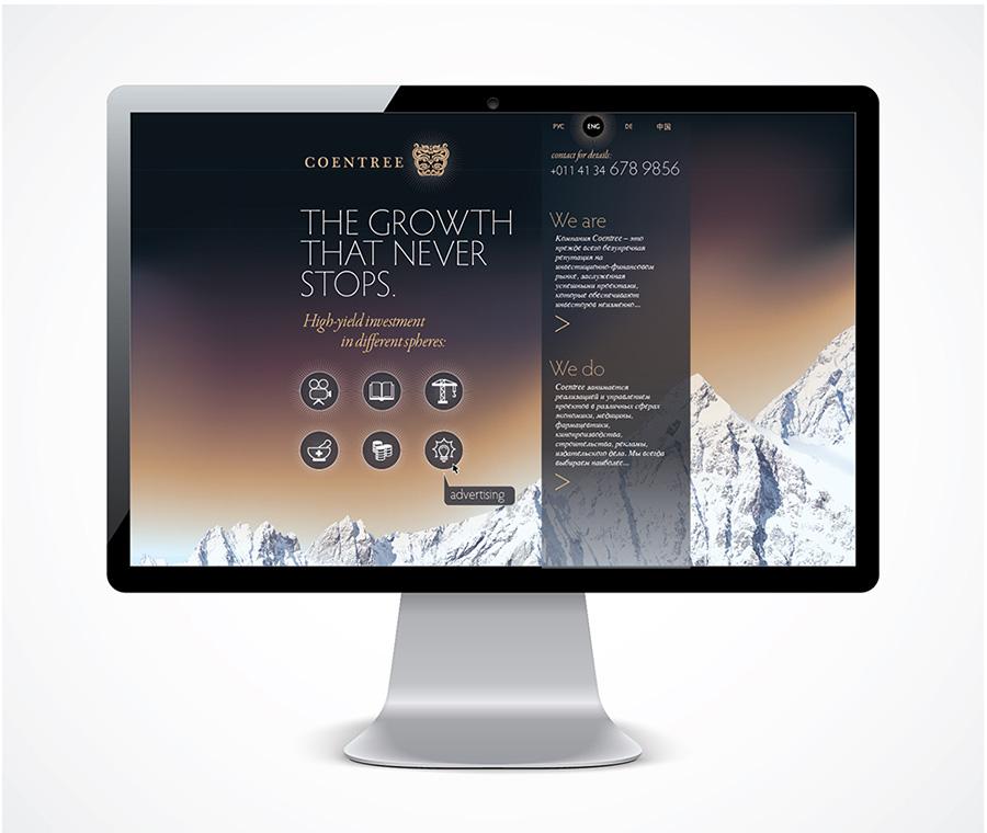 дизайн сайта Сoentree