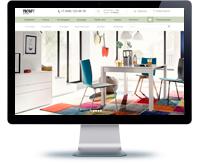 Дизайн сайта мебель
