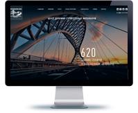 дизайн корпоративного сайта группы компаний (поэкранный)