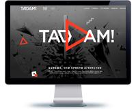 Сайт-визитка рекламной студии