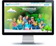 Дизайн сайта детского лагеря