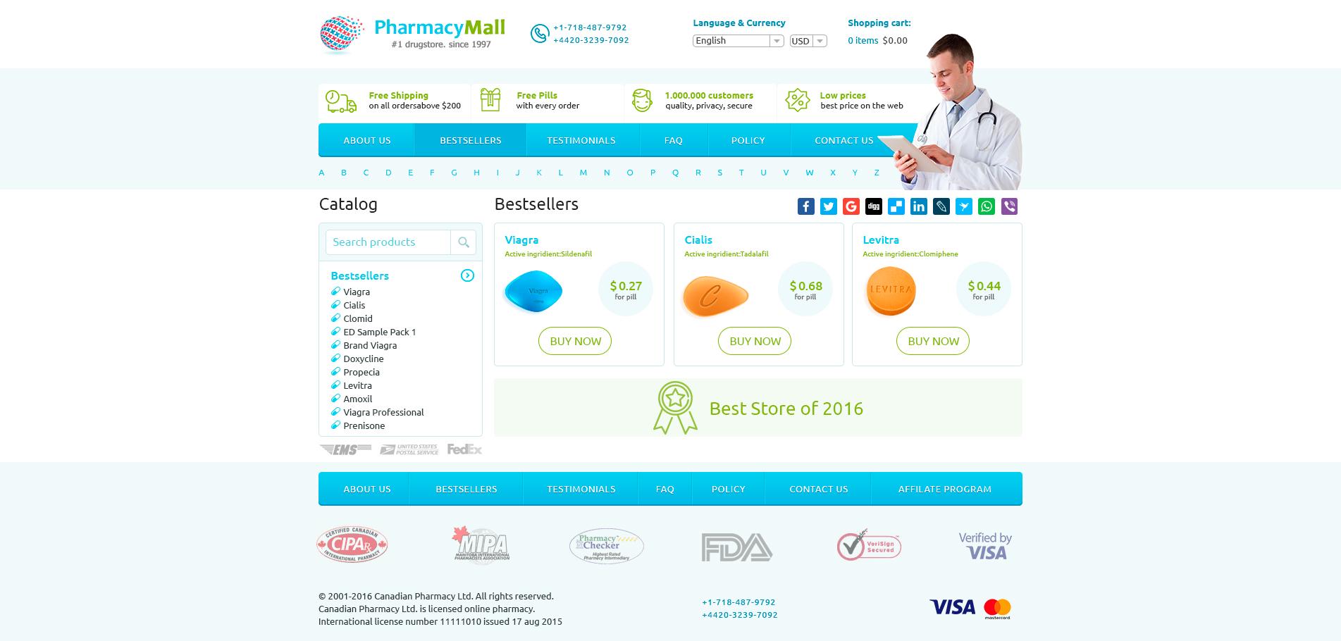 Pharmacy mall
