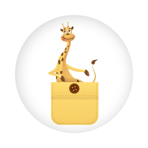 Giraffe in my pocket